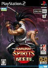 Used PS2 Samurai Spirits Rokuban Shoubu SNK SONY PLAYSTATION JAPAN IMPORT
