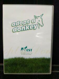 Used Adaopt A Donkey DVD Elisabeth Svendsen Trust Chilren & Donkeys M25-Z