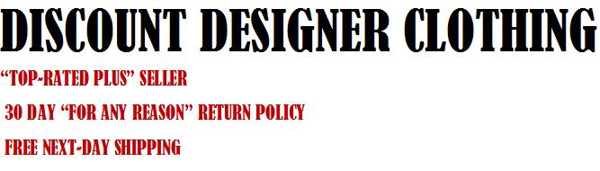 Discount Designer Clothing
