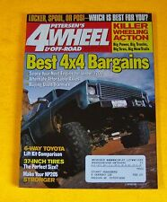 PETERSON'S 4 WHEEL & OFF-ROAD MAGAZINE AUG/2001...LOCKER, SPOOL OR POSI: WHICH?