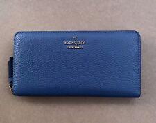 Kate Spade Jackson Street Zip Around Leather Wallet Lacey New