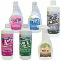 Yellowstone FLUSH BIODEGRADABLE Portable TOILET fluid Cleaner Waste boat caravan