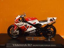 1:24 Scale  2000 Noriyuki Haga YAMAHA R7 by IXO