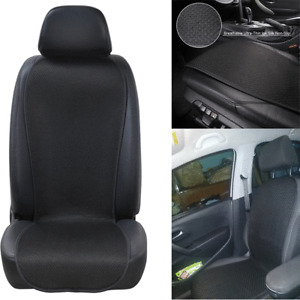 Breathable Ice Silk Car Front Seat Cover Protector Pad Summer Non-slip Cushion