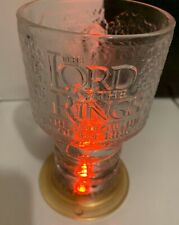 Aragorn- Lord of the Rings Fellowship of the Ring Light-Up Glass Chalice Mug Cup