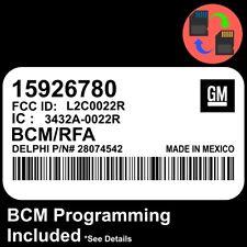 15926780 W/ PROGRAMMING 2007 2008 Colorado / Canyon BCM BCU Body Control Module