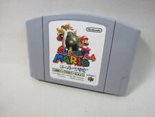 Nintendo 64 SUPER MARIO 64 Rumble Pak Version Import JAPAN Cartridge Only n6c *