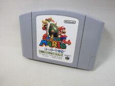 Nintendo 64 SUPER MARIO 64 Rumble Pak Version Import JAPAN Cartridge Only n6c *