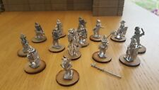 Wargaming anciens 28 mm roman Teddy Bear figures.
