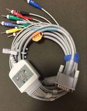 Philips Hp 10 Leads Ecg Ekg Cable M1770a M1771 M1772a Ahadin 30 15pins