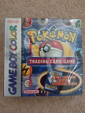 Pokemon Trading Card Game Boy Nintendo Gameboy Color Colour red strip NEW SEALED