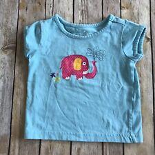 Toddler Girl's Sprockets Pink Polka Dot Elephant Tshirt 2T