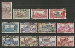 Tunisia Small Early MM and Used Lot to 1941