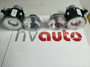 Hella Headlight Set Low Beam Light & Full Beam Lancia Delta Integral Evo New