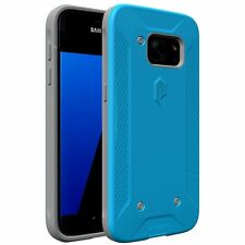 Poetic QuarterBack Corner/Bumper Replaceable Case For Samsung Galaxy S7 Black
