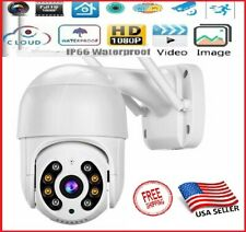 1080P HD IP Wireless PTZ CCTV Outdoor Camera WiFi  Security Waterproof IR Night