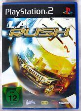 L.A. RUSH (SONY PLAYSTATION 2, 2005, DVD-BOX)