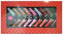 SEPHORA KISSIN' UP 18-PIECE HOLIDAY MINIATURE LIP GLOSS SET ~NEW IN BOX~LIMTED!