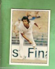 Scanlens Imran Khan Cricket Trading Cards