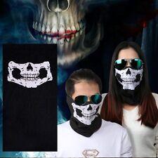 3D Balaclava Full Face Neck Skull Mask Ghost Bike Skateboard Hood Cos Costume