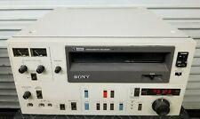 "SONY VO-5800 NTSC UMATIC 3/4"" VIDEO TAPE RECORDER W/ carry-in-Warranty"