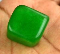 Natural 140.95 Ct Green Emerald Loose Gemstone Fancy Shape 25 x 23 mm Brazilian