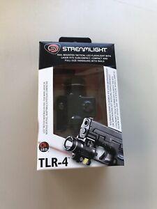 Streamlight TLR-4 Led Flashlight With Laser