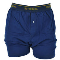NCAA Notre Dame Fighting Irish Mens Boxer Shorts Under Wear Briefs Navy