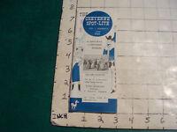 vintage HIGH GRADE travel paper: CHEYENNE WYOMING spot-lite June 1956; 44pgs