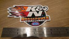 K&N New genuine Sticker Decal Graphic Air Filter Car Bike Truck