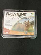 Frontline Plus Flea and Tick Treatment for Small Dogs, 3 Doses