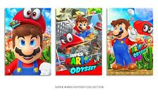 SUPER MARIO ODYSSEY x3 Posters 13x19 Inch each W/FoamBoard Backing
