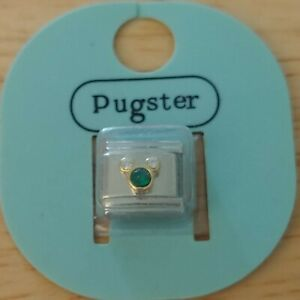 NEW ~ Pugster ~ Rhinestone Mickey Mouse ~ 9mm stainless steel Italian link charm