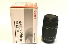 Canon EF-S 55-250mm f/4.0-5.6 IS II Lens - Mint Condition / Original Packaging