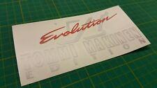 Mitsubishi lancer Evo 6 Evolution MAKINEN VI replacement Decal Sticker any color