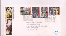 1981-Fdc-Netherlands-Kind erpostzegels.