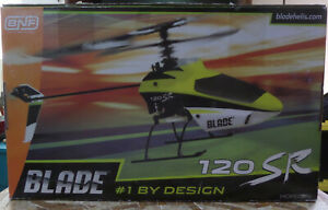 E-Flite BLADE 120SR RC Helicopter & Charger For Parts No Transmitter or Battery