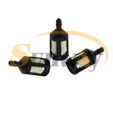 3x Fuel Petrol Filter Fits Many Strimmer Trimmer Hedgetrimmer Small 2.5mm Nipple