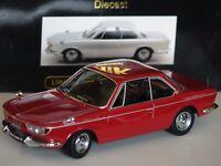 BMW 2000 CS Coupe 1965 rot 1:18 KK Scale 180122 neu & OVP