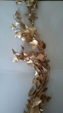 Gold colored Ivy Garland, Wedding, Holiday Decor