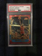 Michael Jordan Rookie 1996 Fleer Refractor Gold Psa 9 TOUGH CARD! Low Pop/PSA 9