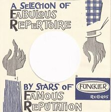 FUNKLER Records Reproduction Record Sleeves, Holland,  - (pack of 5)