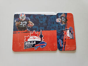RS20 Buffalo Bills 2010 NFL Football Pocket Schedule Card - Bills Toronto Series