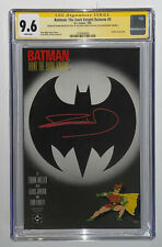 Batman: The Dark Knight Returns #3 CGC 9.6 Signed SS by Frank Miller White Pages