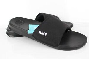 Reef Men's One Slide Sandals Lightweight Black