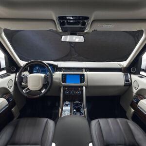 Car Shield Cover Visor UV Block Rear Front Windshield Window Sun Shade Foldable
