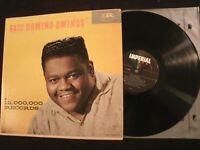 FATS DOMINO: Swings - 1959 Mono Vinyl 12'' Lp./ VG+/ 60's Pop Rock