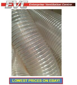 PU Flexible Ducting Hose - Ventilation, Fume & Dust Extraction, Woodworking