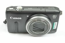 Canon Powershot SX260 Hs 12.1MP 7.6cmScreen 20 X Zoom Digitalkamera - Schwarz
