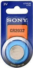 10 PILAS TIPO BOTON DE  LITIO ELECTRONICAS SONY 3V CR2032